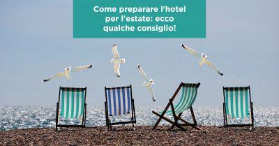 Come preparare l'hotel per l'estate: ecco qualche consiglio!