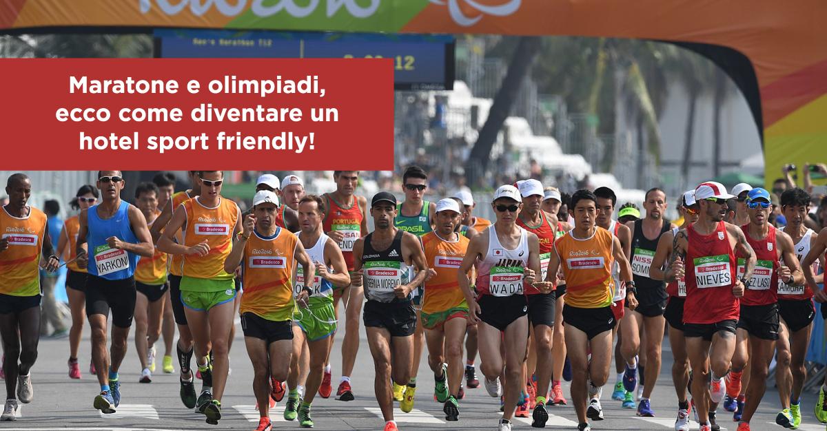 Maratone e olimpiadi, ecco come diventare un hotel sport friendly!