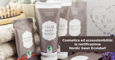 Cosmetica ed ecosostenibilità: la certificazione Nordic Swan Ecolabel!